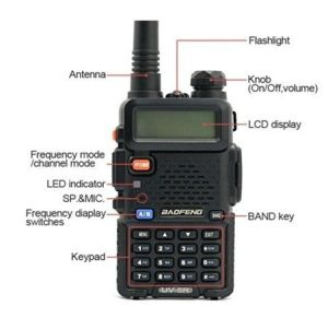 Dual Band Baofeng UV-5r Cheap Transceiver Ham Radio pictures & photos