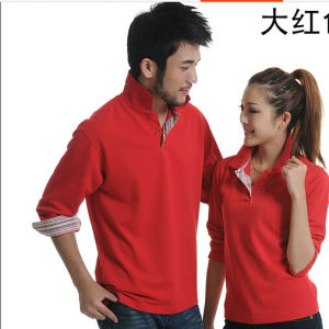 Custom Long Sleeve Polo Shirt pictures & photos