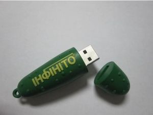 Promotional Customized Design & Logo USB 2.0 USB Flash Drive (OM-P315) pictures & photos