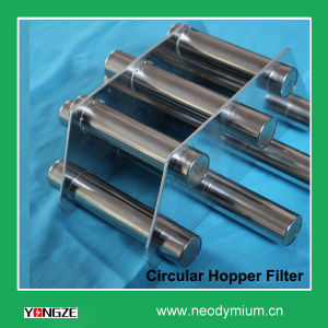 Neodymium Magnetic Hopper Filter for Food