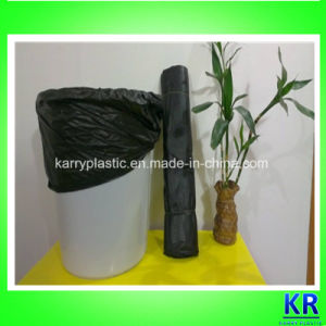 PE Material Star Sealed Garbage Bag, Bin Liner pictures & photos
