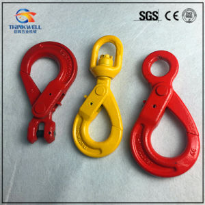 Forged Alloy Steel G80 Eye Safety Hook pictures & photos