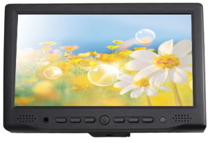 Small 7 Inch LCD CCTV Monitor with PC/AV1/AV2/HDMI pictures & photos