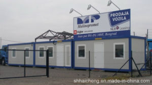 Modular House for Shop/Flat Pack Container House (shs-mh-commercial025) pictures & photos