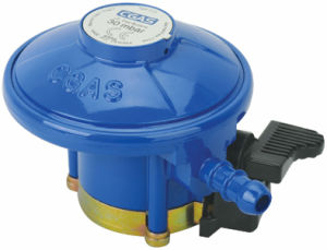 LPG Compact Low Pressure Gas Regulator with Hose Blue (C10G52U30) pictures & photos