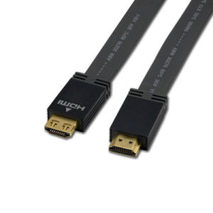 Support 3D and Audio Return Channel Flat HDMI Cable