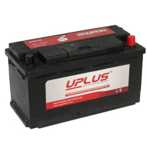 DIN Standard 12V 98ah Auto Starting Car Battery (60038) pictures & photos