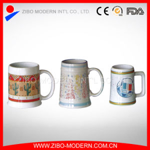 Ceramic Beer Mug with Imprint pictures & photos