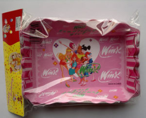 Happy Birthday Pink Cartoon Disposable Paper Tray