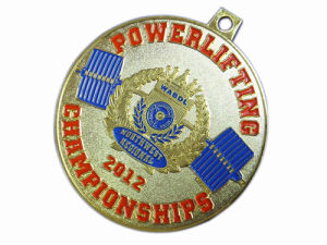 Customized Zinc Alloy Sport Running Soft Enamel Medal