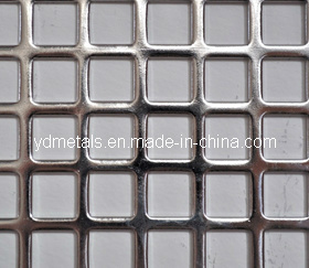 Perforated Metal Mesh with Square Hole