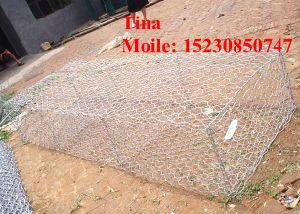 3X1X1m Anping Factory Hot-Dipped Galvanized Iron Wire Stone Basket Gabion (XM-3) pictures & photos