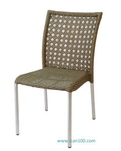 Aluminum Wicker Dining Chair (WS-1731) pictures & photos