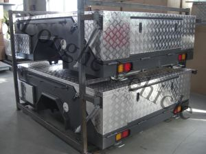 Heavy Duty Steel Hard Floor Camper Trailer (CPT-04) pictures & photos