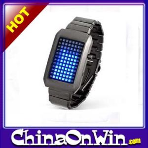 72 Super Bright Lights Displaying Month and Day LED Watch
