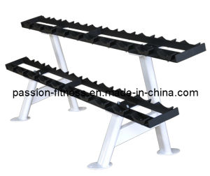 Dumbbell Rack Free Weight Commercial Fitness/Gym Equipment with SGS