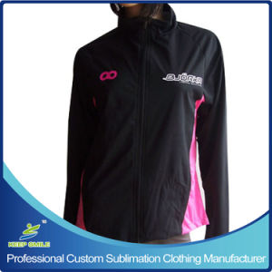 Custom Women′s Windproof Waterproof Breathable Cycling Jacket pictures & photos