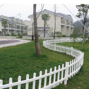 PVC Garden Fence for Residential Area pictures & photos