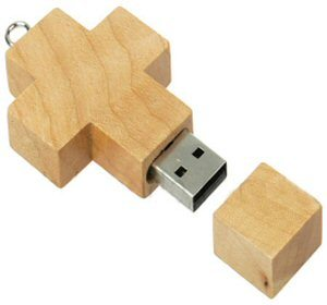 Wooden USB Flash Drive (S-GFM008)