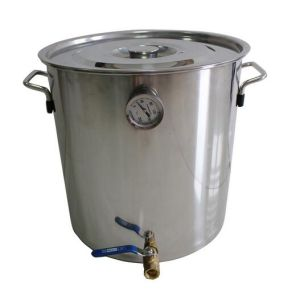 30L/8gal Malt Beer Brewing Equipment Homebrew Kettle with Logo Printing
