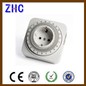 Hot Type Germany Plug Mechanical Timer Switch Daily Timer pictures & photos