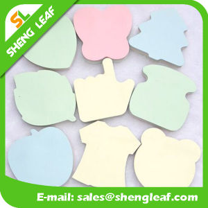Removable Sticky Note with Logo Print and Different Shape (SLF-PI012)