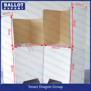 Tri Wall Cardboard Display Table for Election