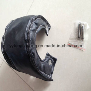 Black Fiberglass Turbo Heat Shiled Blanket T3/T4/T6/T25 pictures & photos