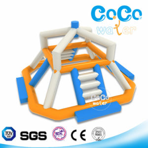 High Strength PVC Inflatable Water Park Export to Europe LG8077
