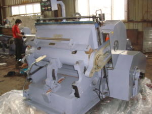 Die Cutting Creasing Machine (ML-1200) pictures & photos