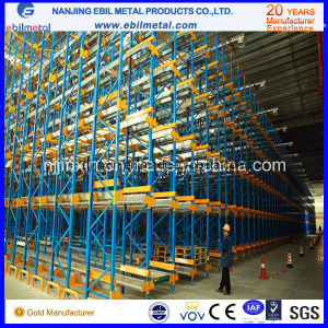 High Density Storage Radio Shuttle Shelving pictures & photos