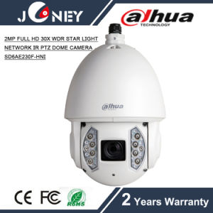 SD6ae230f-Hni 2MP Full HD 30X WDR Star Light Network IR PTZ Dome Camera pictures & photos