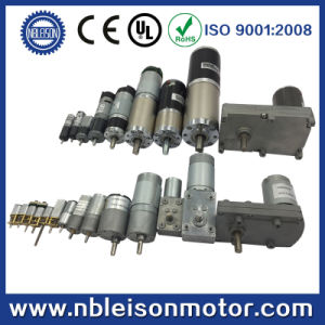 25mm 12V DC Motor with Gearbox 20rpm 60rpm 200rpm pictures & photos