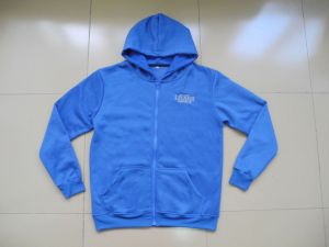 Wholesale Stock Hoodies Zip up Fleece Hoody for Adults pictures & photos