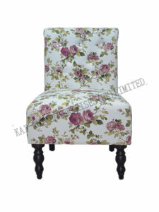 Modern Furniture Floral Lounge Living Room Fabric Leisure Chair