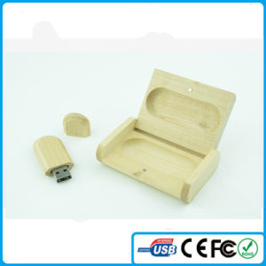 China Promotional Wooden USB Pen Drive with Customized Logo