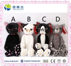 Angry Cat Soft Plush Doll Toy Stuffed Animal pictures & photos