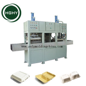 Hghy Paper Pulp Mold Biodegradable Food Container Making Machine