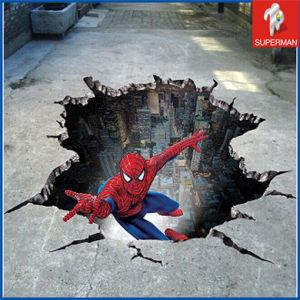 China Adhesive Spiderman 3d Floor Sticker Sm080209 China 3d