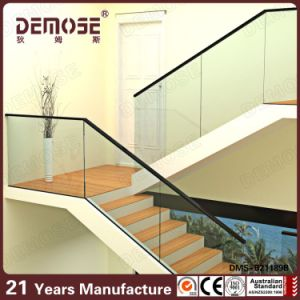 Aluminum U Channel Baluster And Staircase Glass Railing Designs  (DMS B21189B)