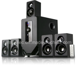5.1CH Subwoofer Home Theater Speaker RMS 140W pictures & photos