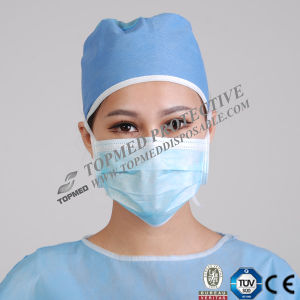 Hospital Disposable Surgical Face Masks with Earloop pictures & photos