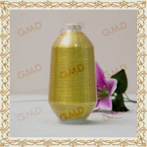 St Type Golden Plastic Pipe Metallic Yarn for Embroidery