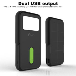 Battery Charger Cases Phone Bags & Cases Lovely 12000mah Solar Charger Portable Solar Power Bank Outdoors Emergency External Battery For Mobile Phone Tablets With Led Light