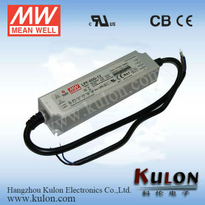 Meanwell 60W 12V PWM Dimmable LED Driver with Pfc Lpf-60d-12/Dimming 50W  LED Driver