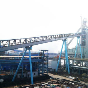 Power Plant Belt Conveyor for Conveying Coal or Coke
