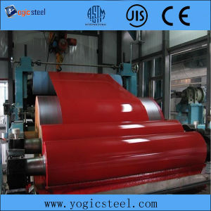Dx51d Z80 Ral 9016 PPGI Steel Coil Iran 0.45*1250mm pictures & photos