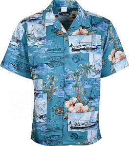 73f47f1d Summer Beach Wear Mens Printed Shirt