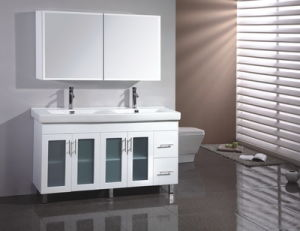 Australia Style MDF Bathroom Vanity with Mirror Cabinet (SW-A900LG) pictures & photos
