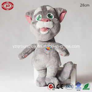 Repeat Talking Cute Grey Plush Soft Tom Cat Fashion Toy pictures & photos